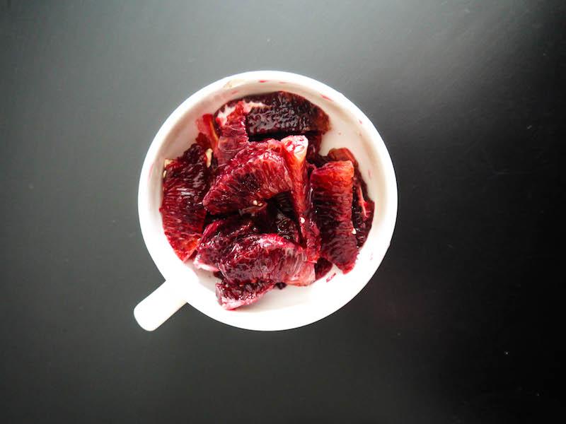 blood orange cup