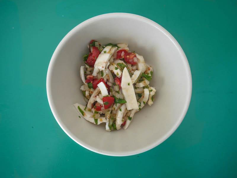 ceviche bowl turqoise