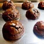 chocolate buckwheat fudge cookie
